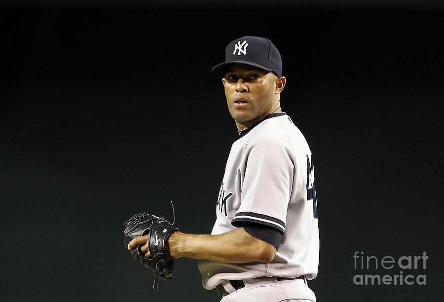 Mariano Rivera Photograph by Christian Petersen