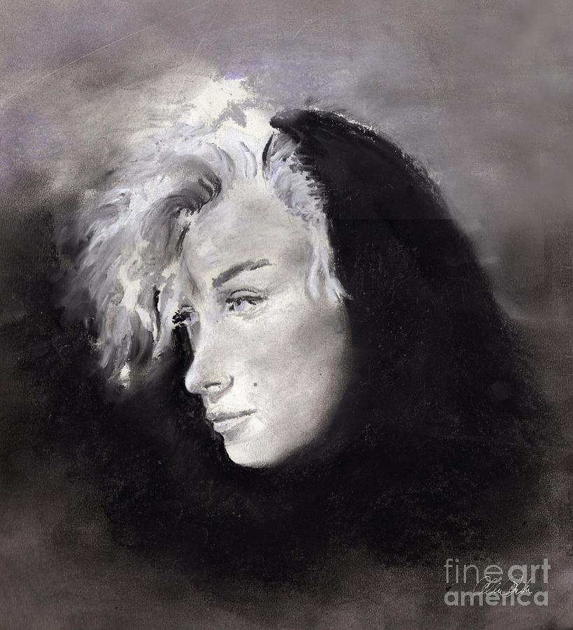 Marilyn Pastel - Marilyn by Allison Ashton