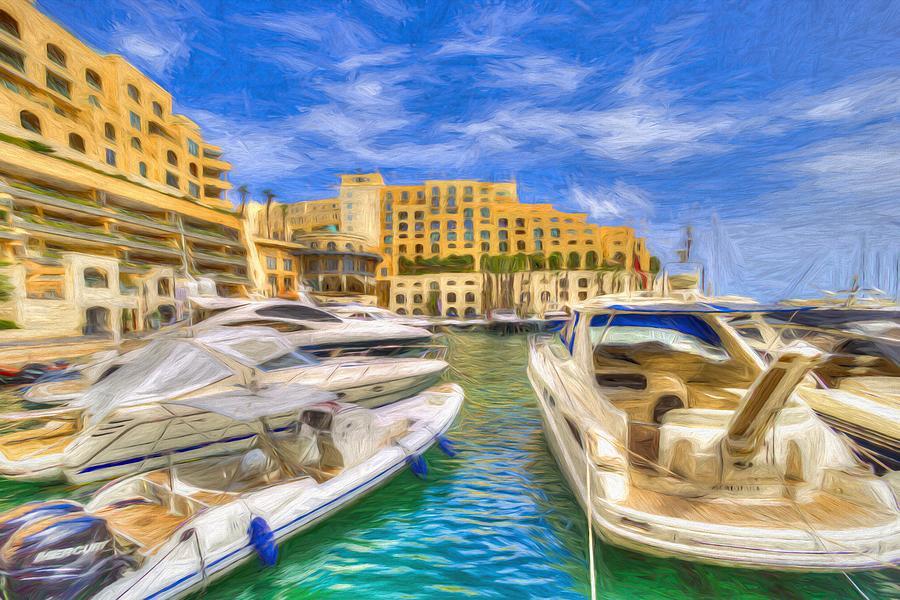 Marina Art Photograph