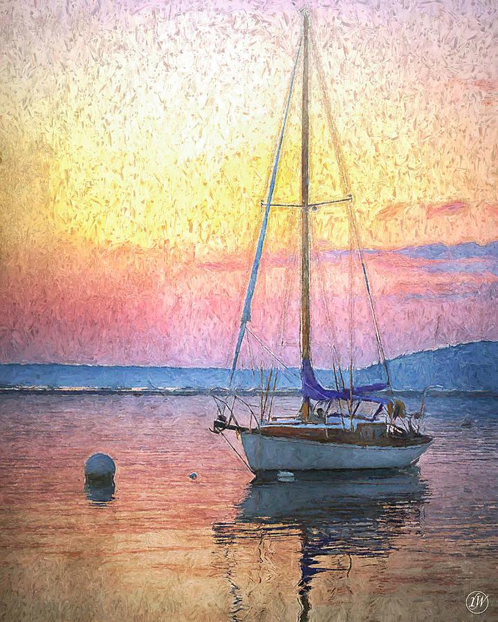 Marina Sunset by Rick Wiles