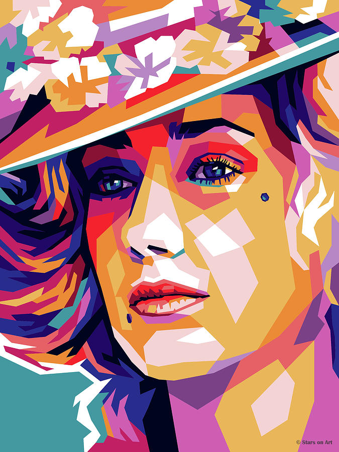 Marisa Berenson In Barry Lyndon Mixed Media