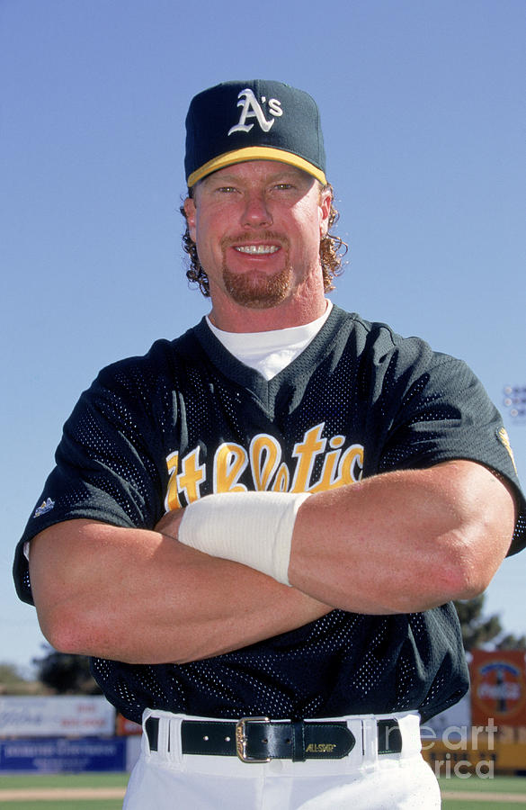 Mark Mcgwire Photograph by Don Smith