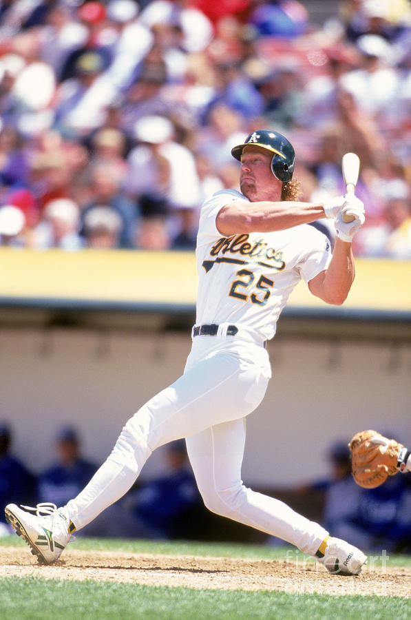 Mark Mcgwire Photograph by Jeff Carlick