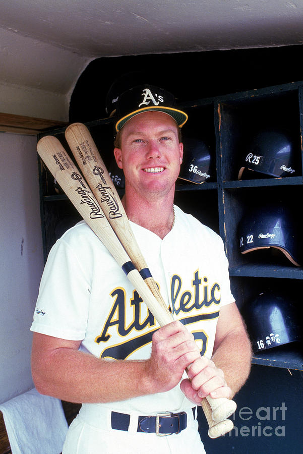 Mark Mcgwire Photograph by Michael Zagaris