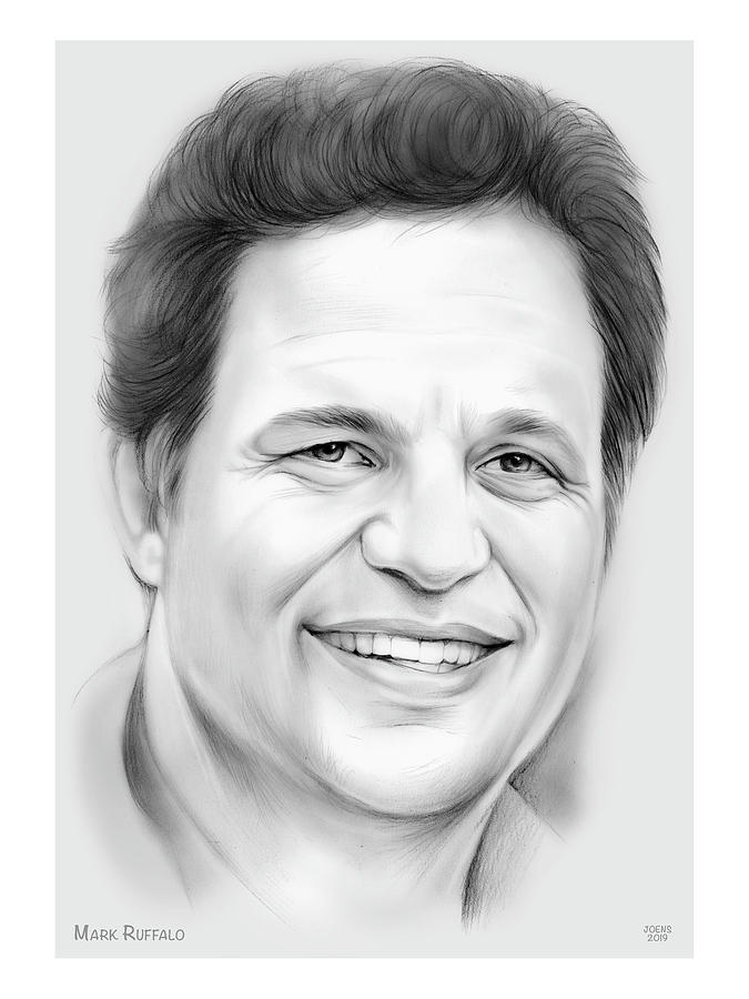 Mark Ruffalo Drawing