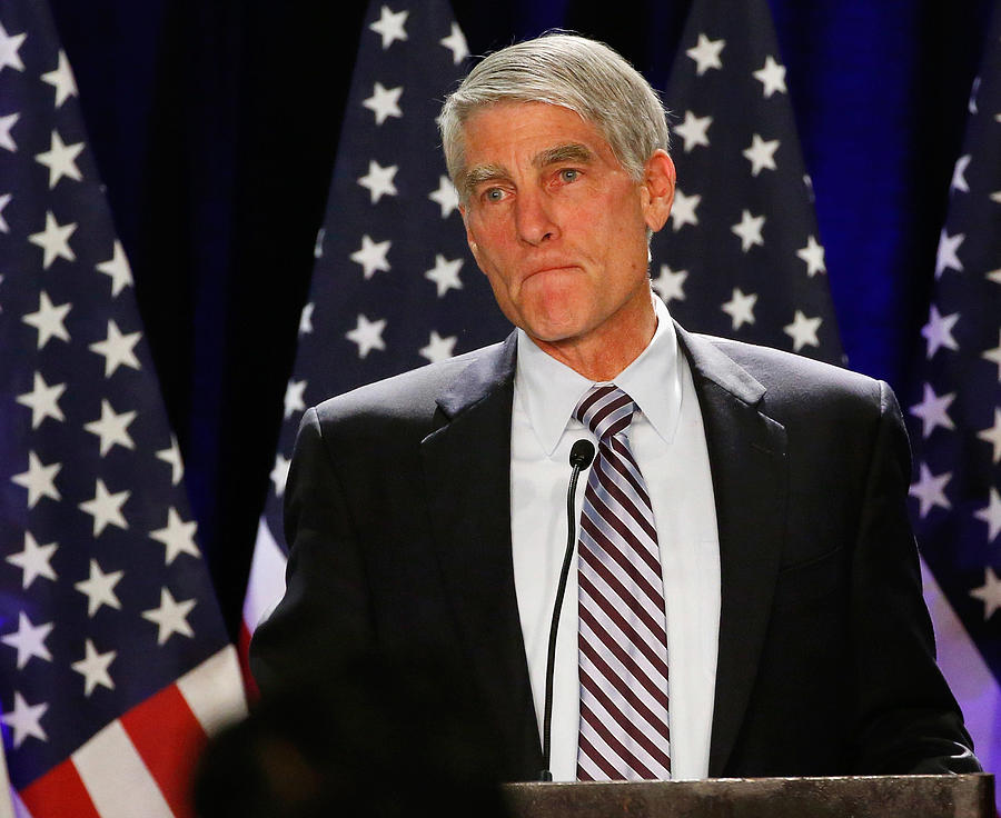 Mark Udall Campaign And Colorado Democrats Hold Election Night Event Photograph by Doug Pensinger