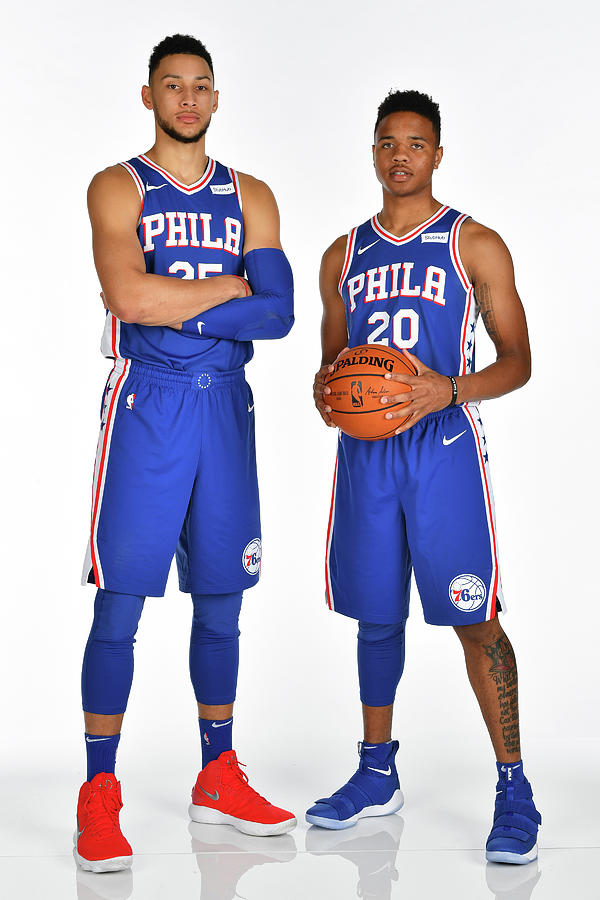 Markelle Fultz and Ben Simmons Photograph by Jesse D. Garrabrant