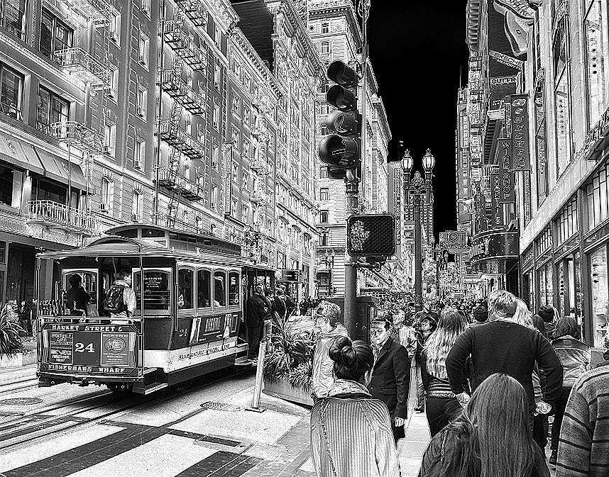 Market Street San  Francisco Photograph