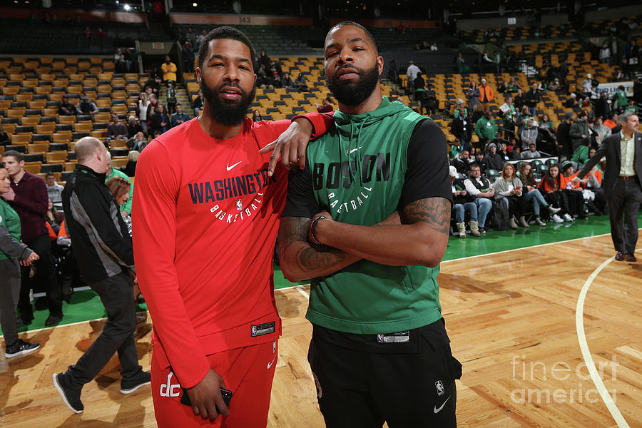 Markieff Morris and Marcus Morris Photograph by Ned Dishman