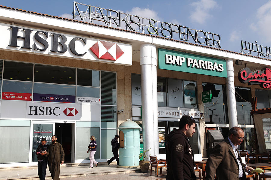 Marks And Spencers Store Opens In Cairo Photograph by Bloomberg