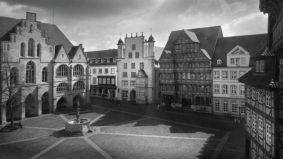 Marktplatz Hildesheim Photograph