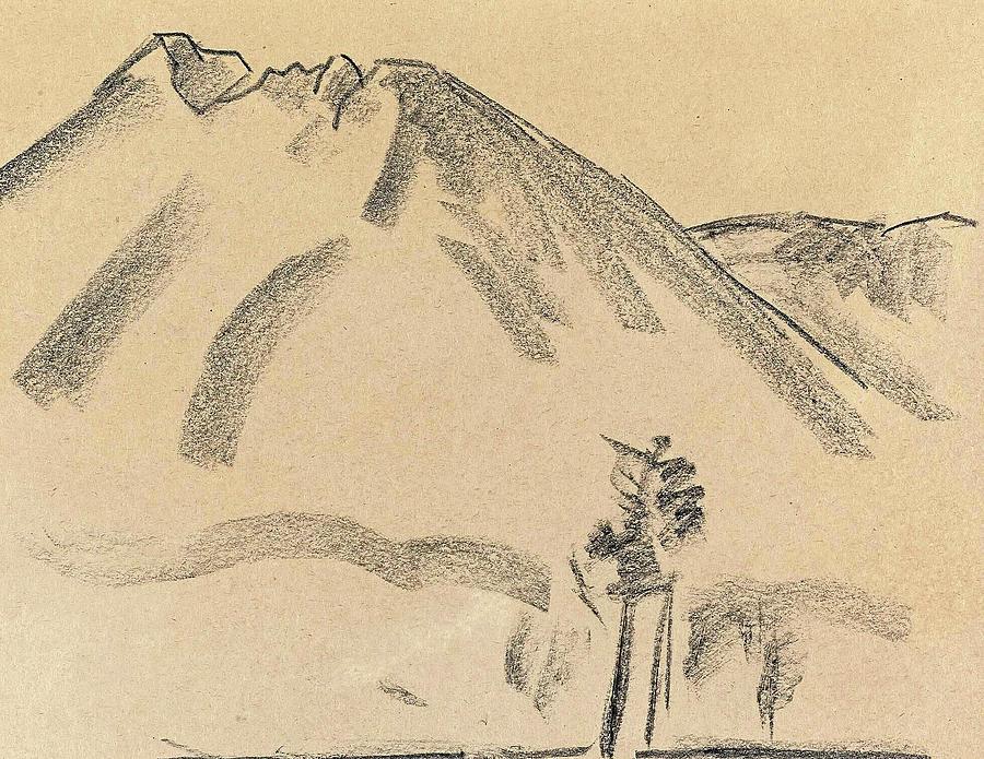 Marsden Hartley 1878 1943 Mt Katahdin Painting