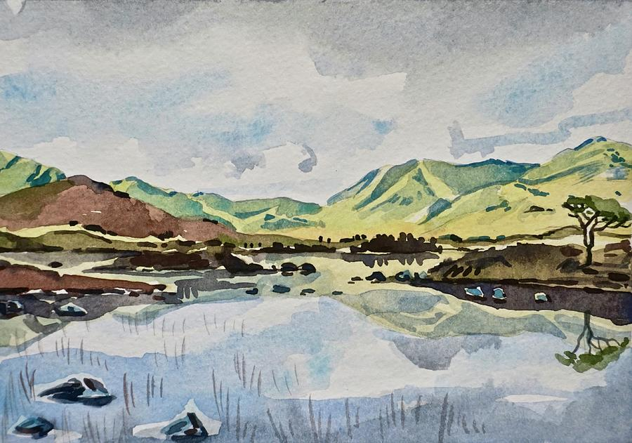 Marsh Reflections Painting