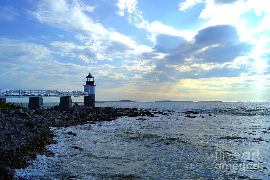 Marshall Point Light by Kyle Neugebauer