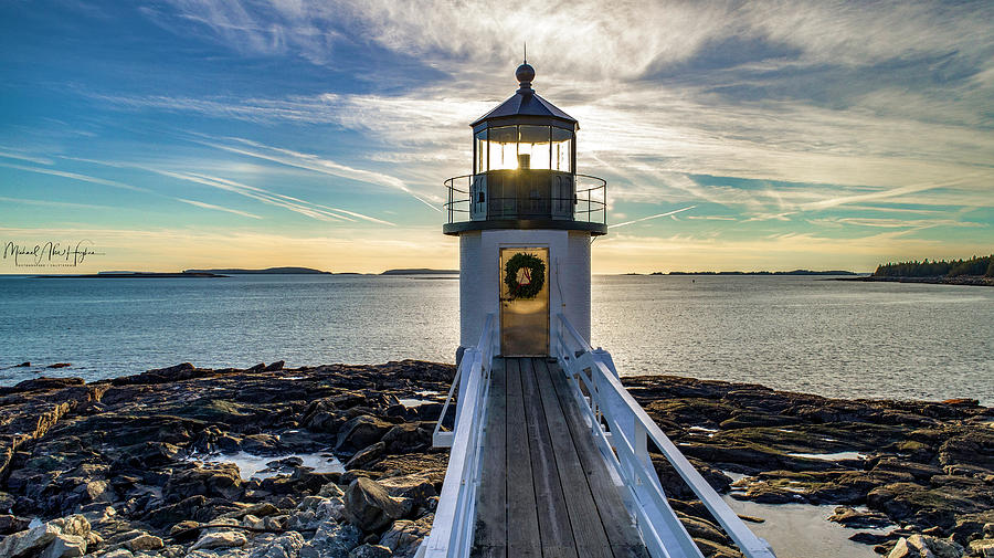 Marshall Point Light by Michael Hughes