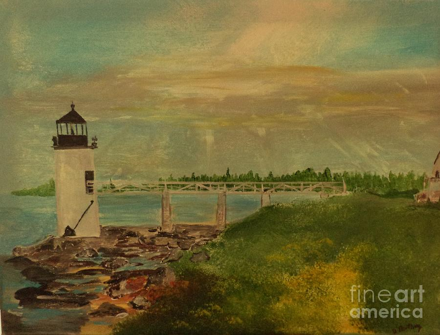 Marshall Point Lighthouse by Donald Northup