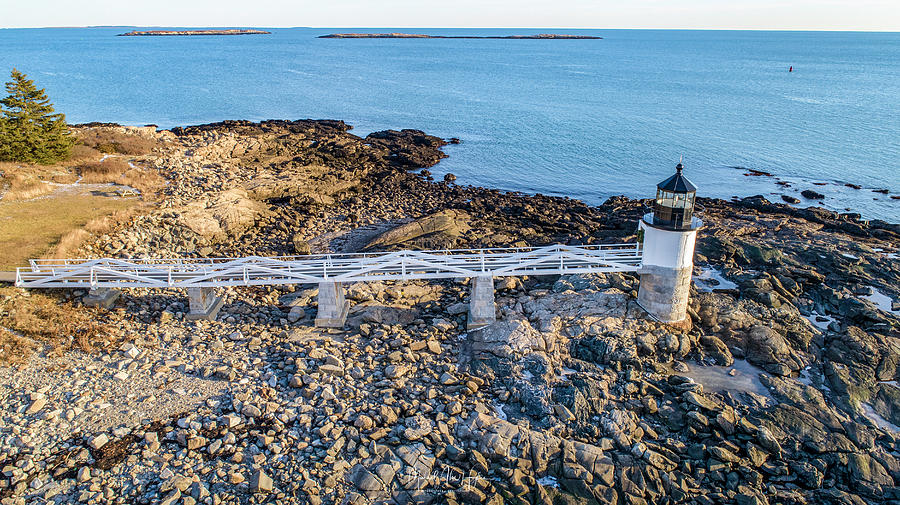Marshall Point Lighthouse  by Michael Hughes