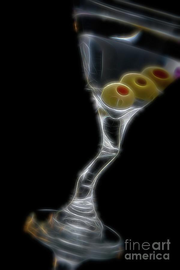 Martini Digital Art - Martini - Into The Light by Chris Mautz