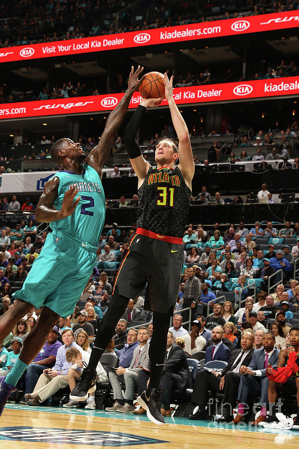 Marvin Williams and Mike Muscala Photograph by Brock Williams-smith