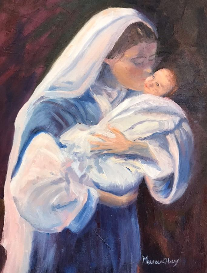 Madonna and Child  by Maureen Obey