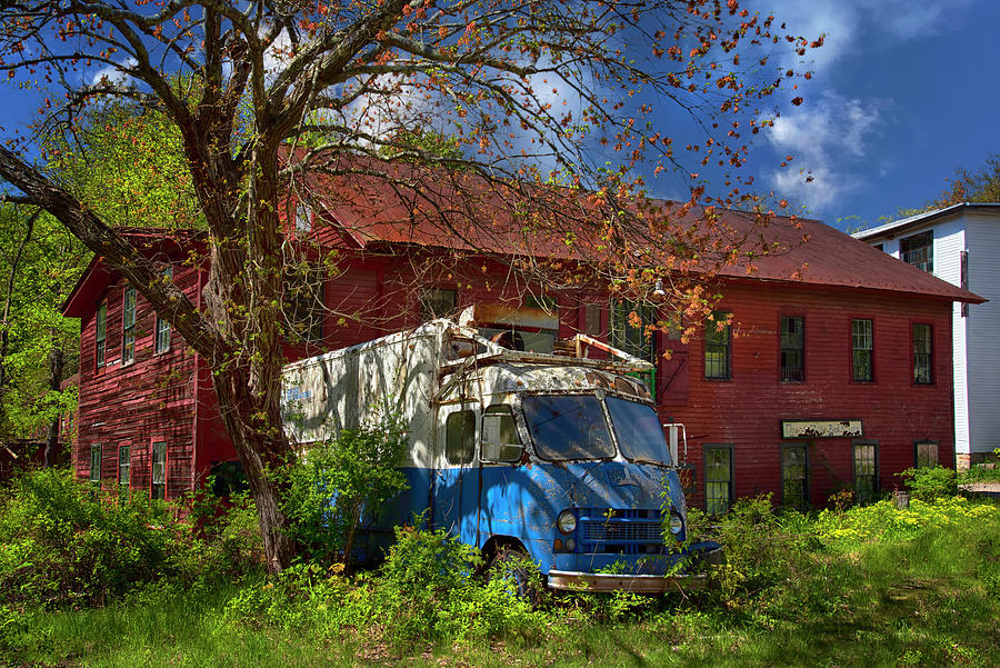 Mason Mill And Box Factory - Coventry, Ct. Photograph