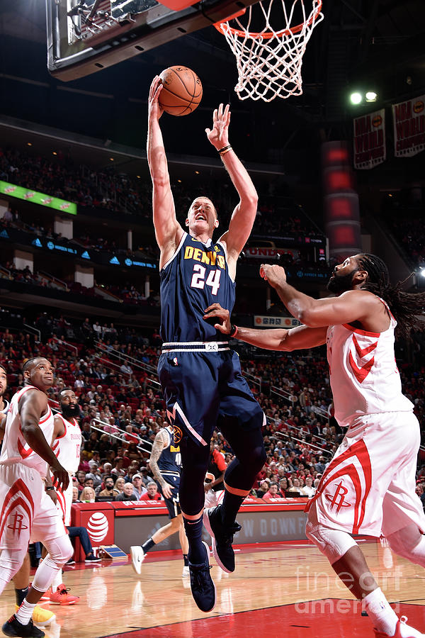 Mason Plumlee Photograph by Bill Baptist