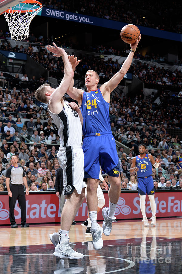 Mason Plumlee Photograph by Mark Sobhani