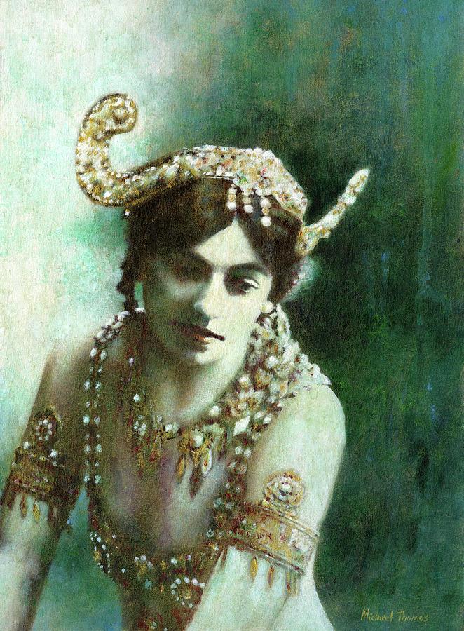 Mata Hari Painting