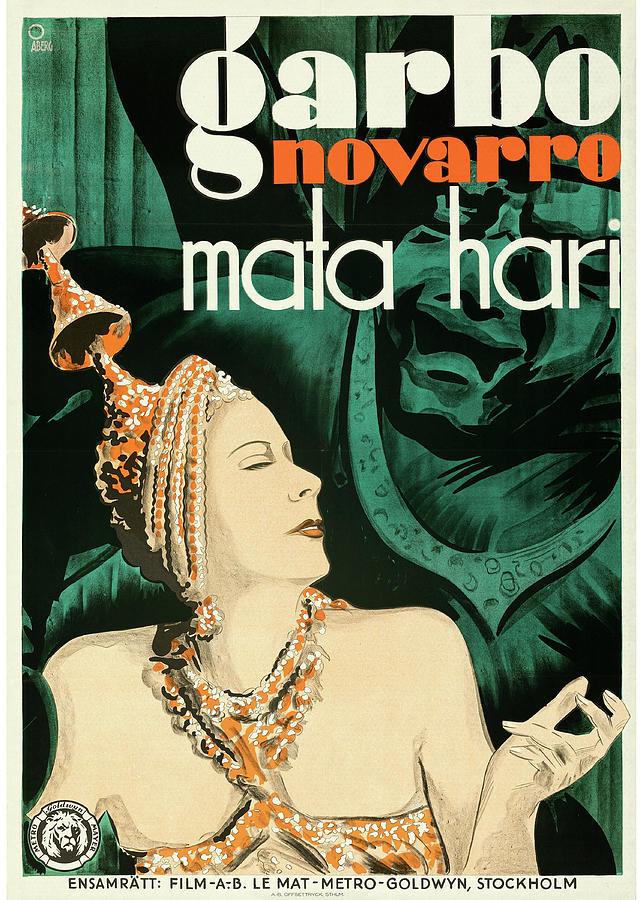 mata Hari Poster 1931 Mixed Media