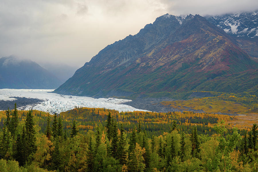 Matanuska glacier in Alaska by Asif Islam
