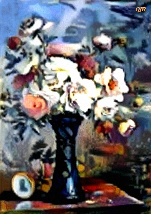 Matissecalia - Still Life With Flower Bouquet In A Blue Vase L A S Digital Art