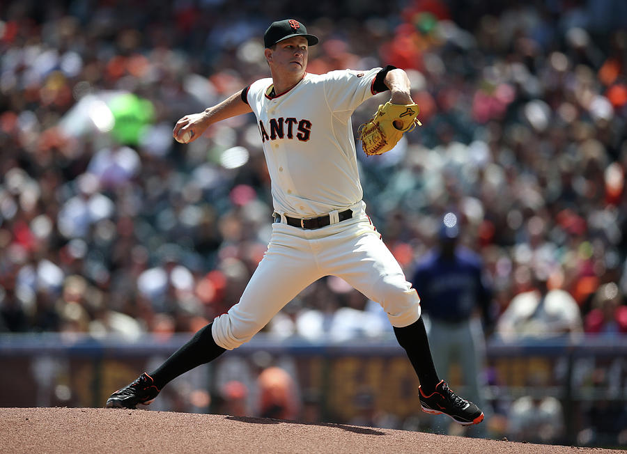 Matt Cain Photograph by Brad Mangin