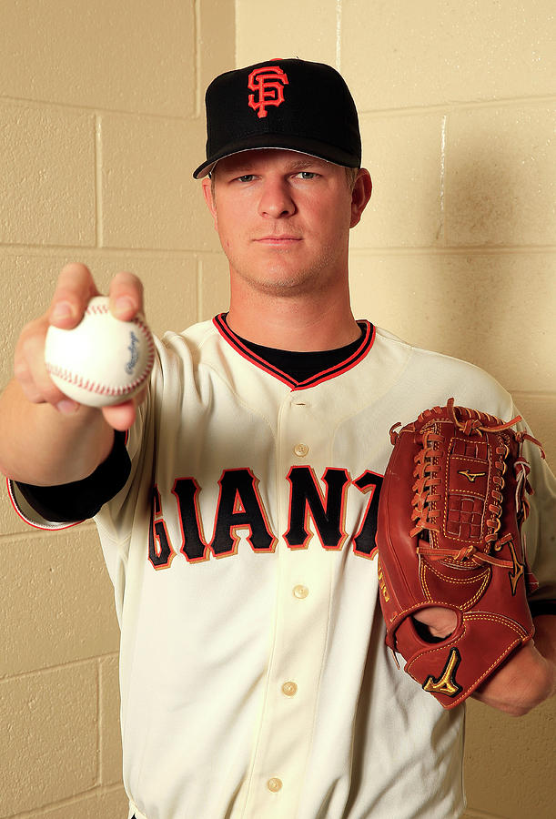 Matt Cain Photograph by Jamie Squire