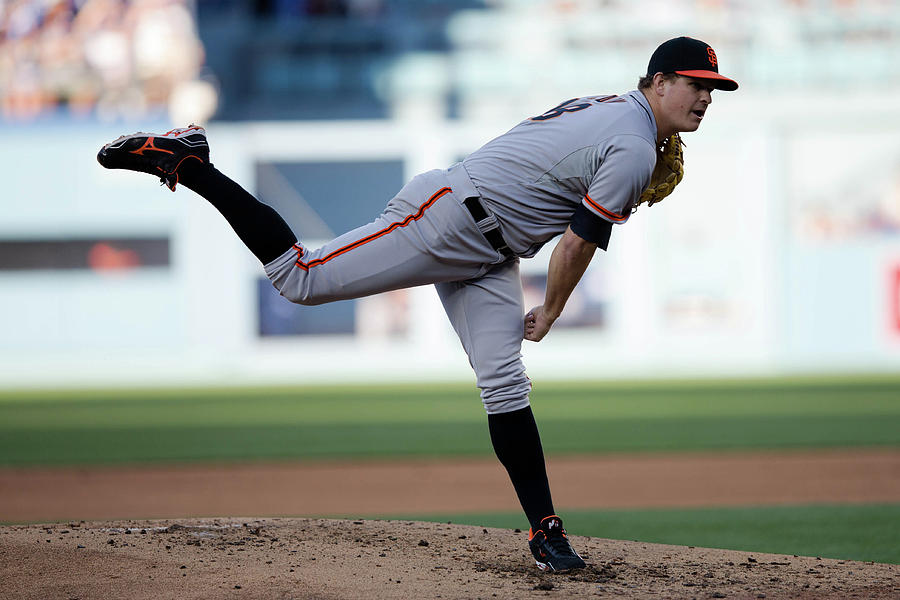Matt Cain Photograph by Paul Spinelli