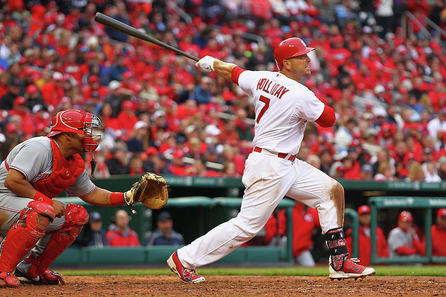 Matt Holliday Photograph by Dilip Vishwanat