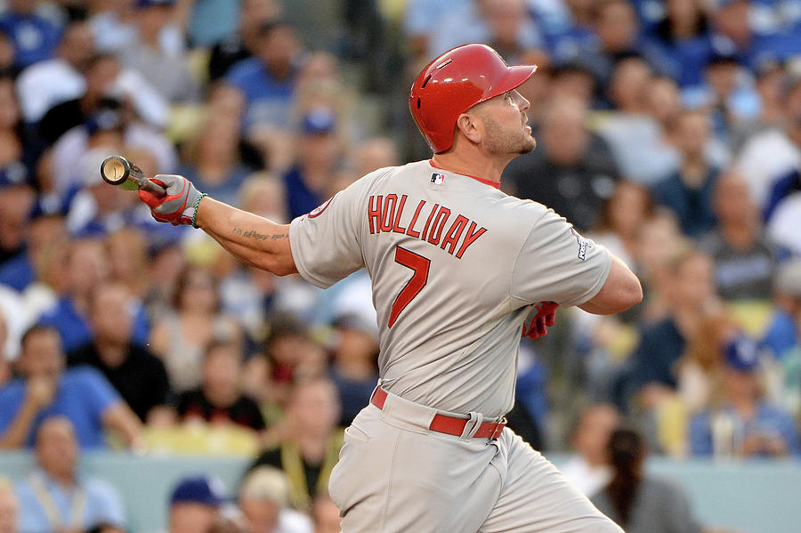 Matt Holliday Photograph by Harry How