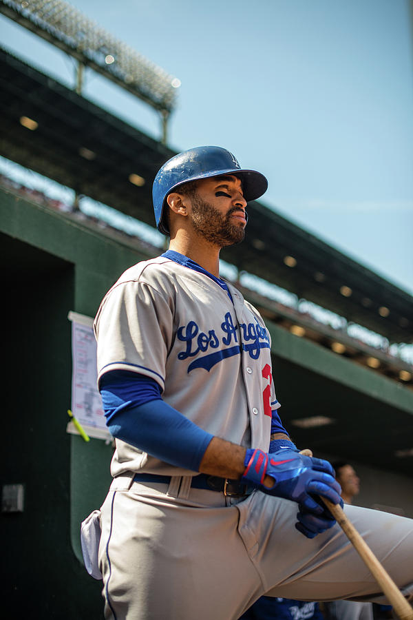 Matt Kemp Photograph by Rob Tringali