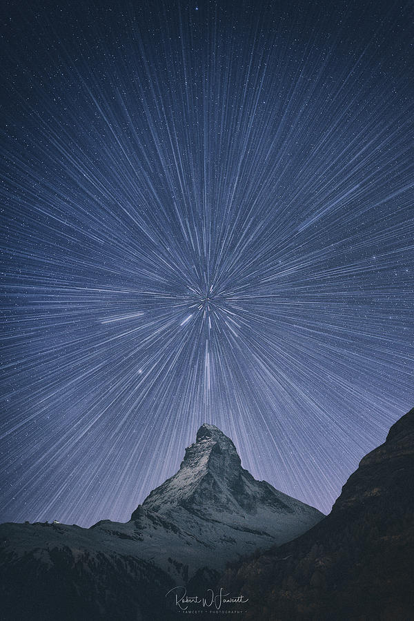 Matterhorn Starburst by Robert Fawcett
