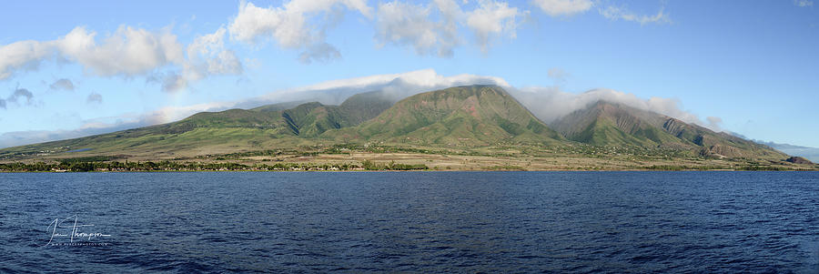 Hawaii Photograph - Maui Panorama by Jim Thompson