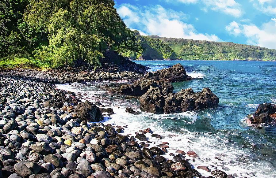 Maui Seashore Photograph