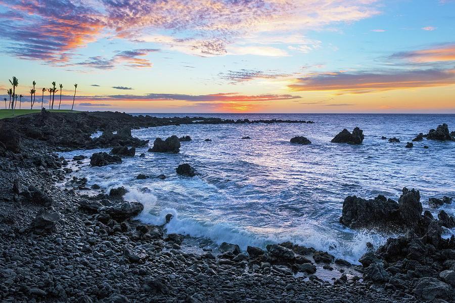 Mauna Lani Sunset Photograph