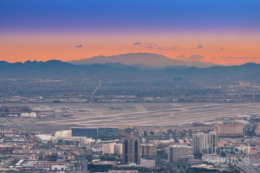 International Photograph - Mccarran Airport Las Vegas by Darrell Foster