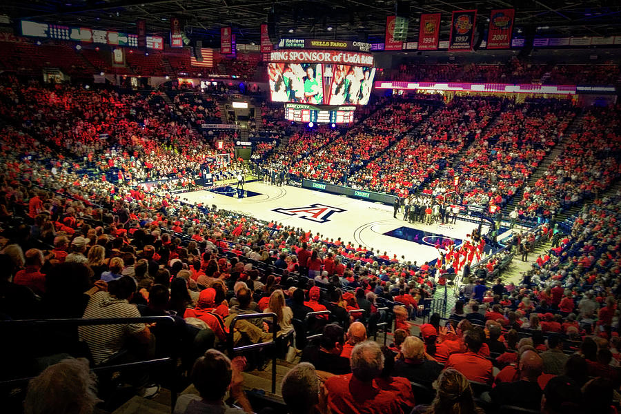 McKale Center, University of Arizona  by Chance Kafka