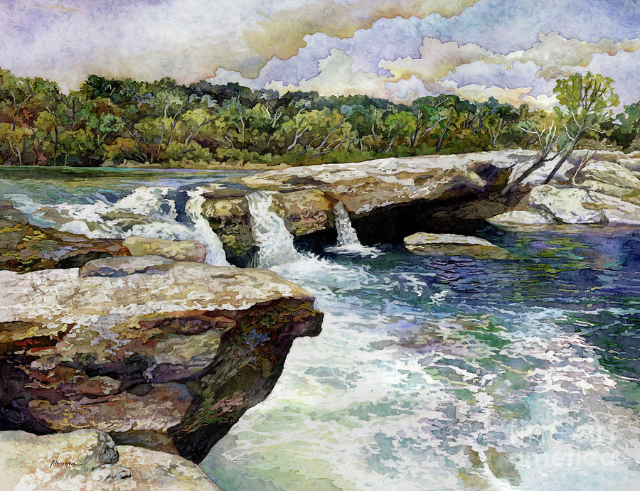 Mckinney Falls Painting