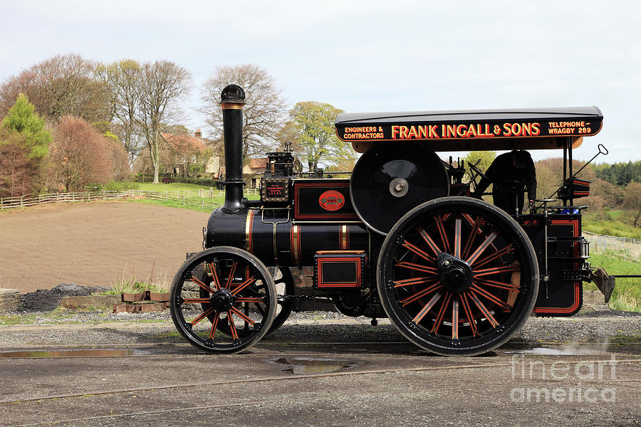 McLaren steam traction engine by Bryan Attewell