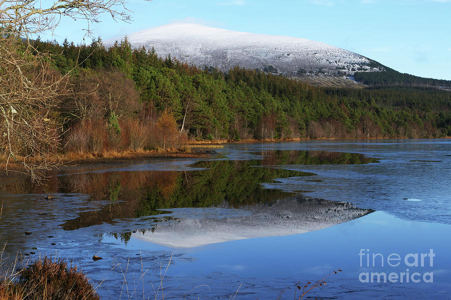 Meall a' Bhuachaille - Reflection by Phil Banks