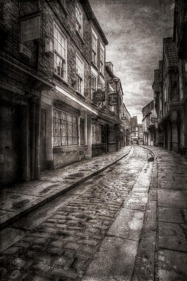 Medieval Shambles York Vintage Photograph