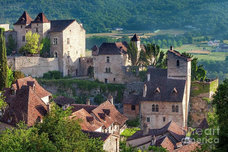 Medieval Village - Occitanie France Photograph
