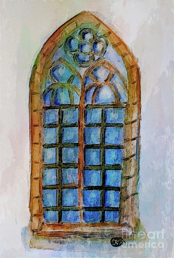 Medieval Window Mixed Media