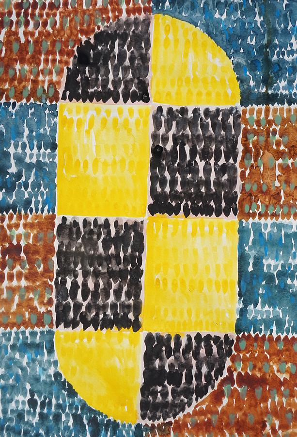 Yellow Painting - Meditation on Yellow  by Bruce Black